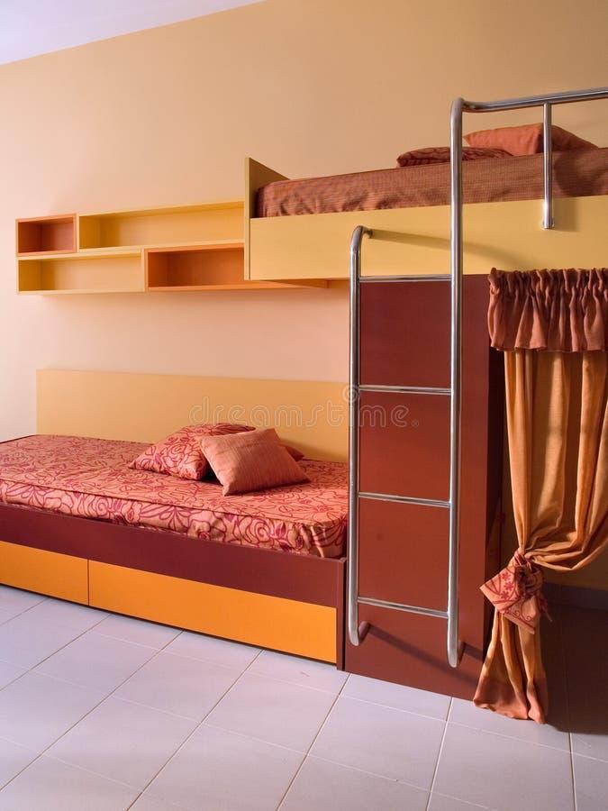 Disegno interno della bella e giovane stanza moderna. immagini stock libere da diritti
