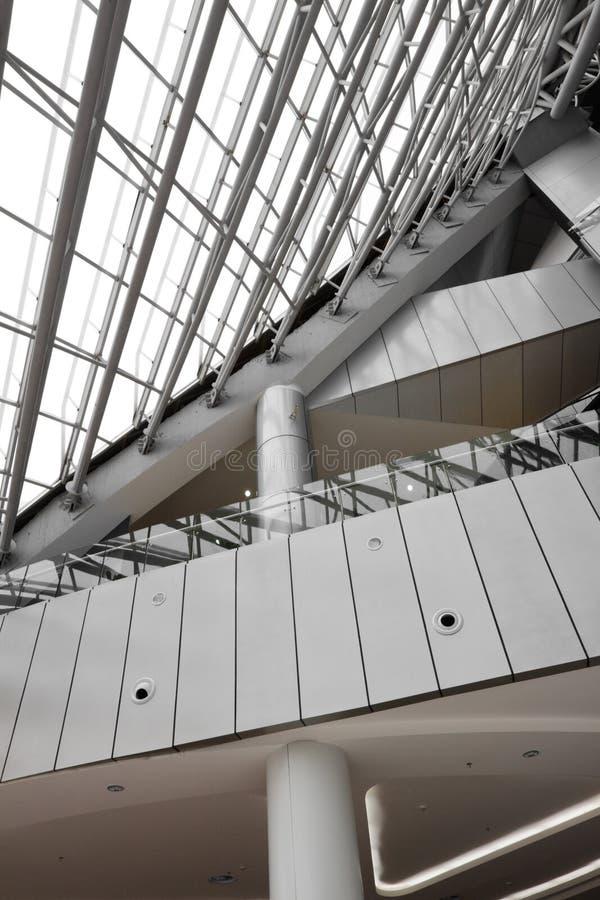 Disegno interno della struttura di costruzione fotografie stock