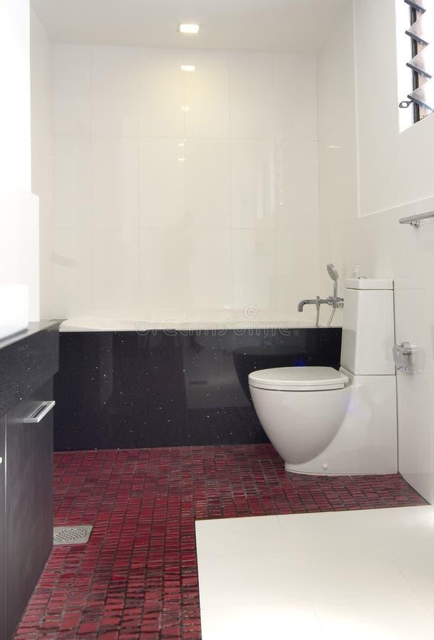 Disegno interno - stanza da bagno fotografia stock libera da diritti