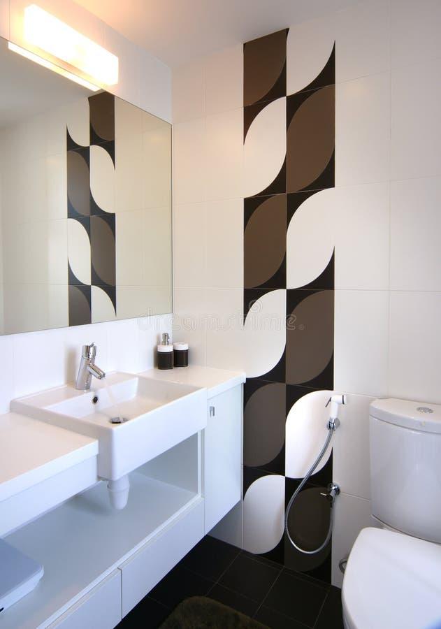 Disegno interno - stanza da bagno immagine stock
