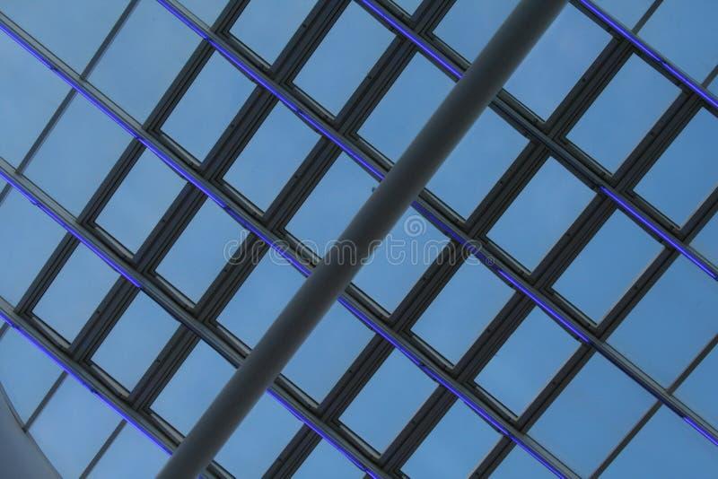 Disegno moderno 4 della costruzione immagine stock