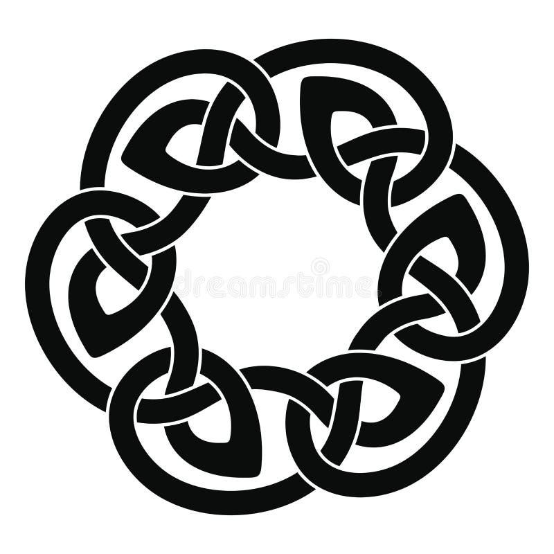 Disegno nazionale celtico illustrazione vettoriale