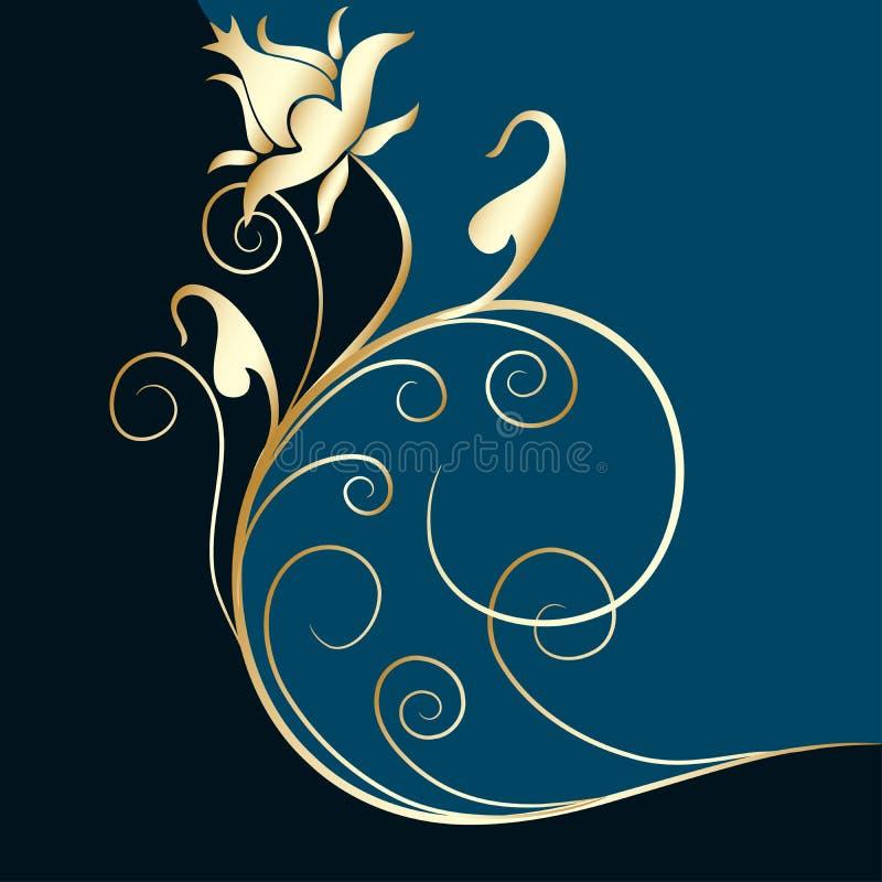 Disegno ornamentale, vettore illustrazione vettoriale