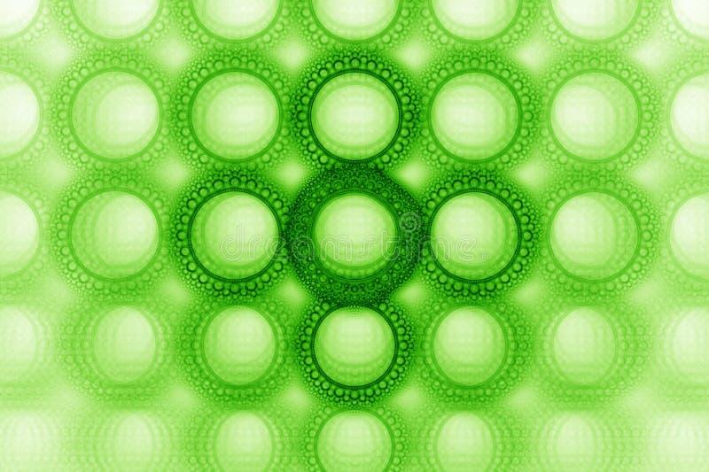 Disegno stampato in neretto luminoso del cerchio della bolla fotografia stock