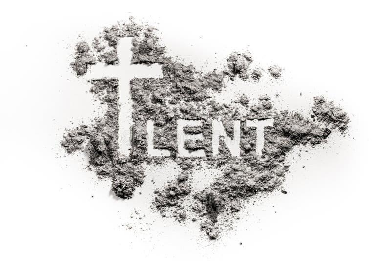 Disegno trasversale prestato e cristiano di parola di simbolo fotografie stock libere da diritti