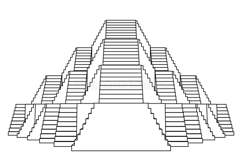 Disegno a tratteggio di vista frontale della costruzione for Progettazione della costruzione domestica
