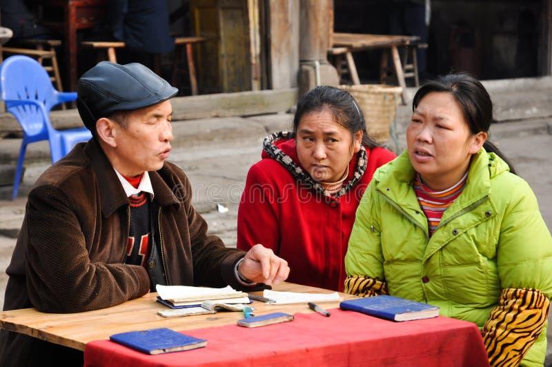 Diseur de bonne aventure chinois photos stock