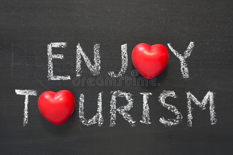 Disfrute del turismo imagen de archivo libre de regalías
