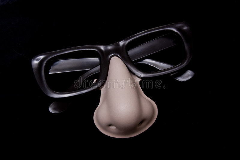 Disguise Glasses Royalty Free Stock Image