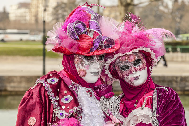 Download Disguised Couple editorial photo. Image of eurpe, masquerade - 39349481