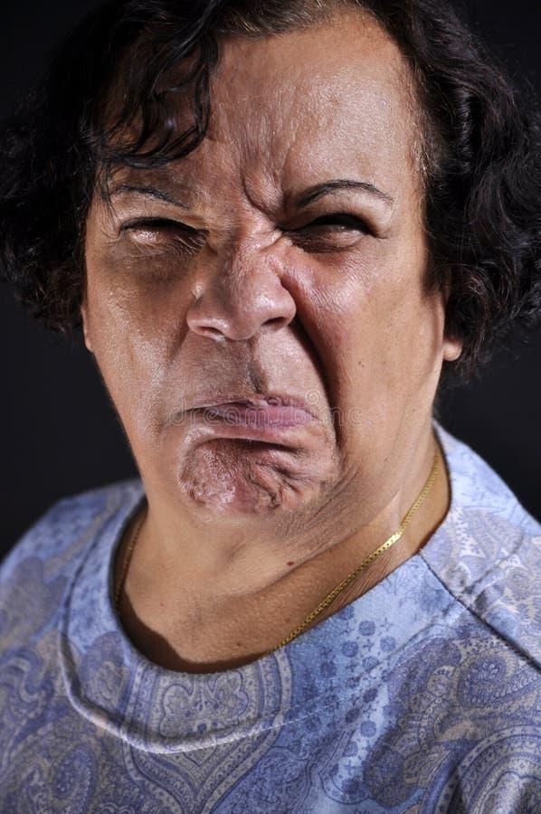 disgusted выражение стоковое изображение rf