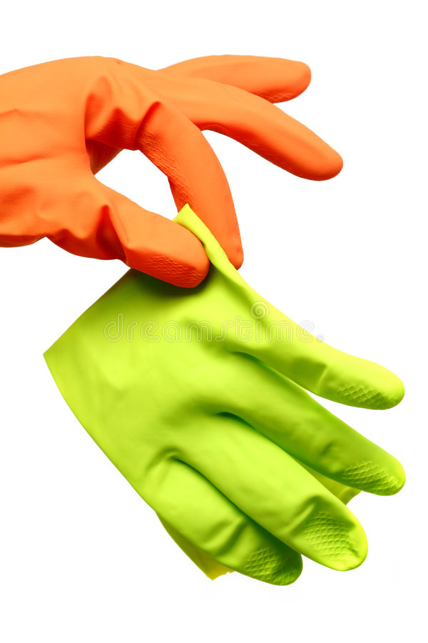 Download Disgusted Glove stock image. Image of protective, latex - 4826755