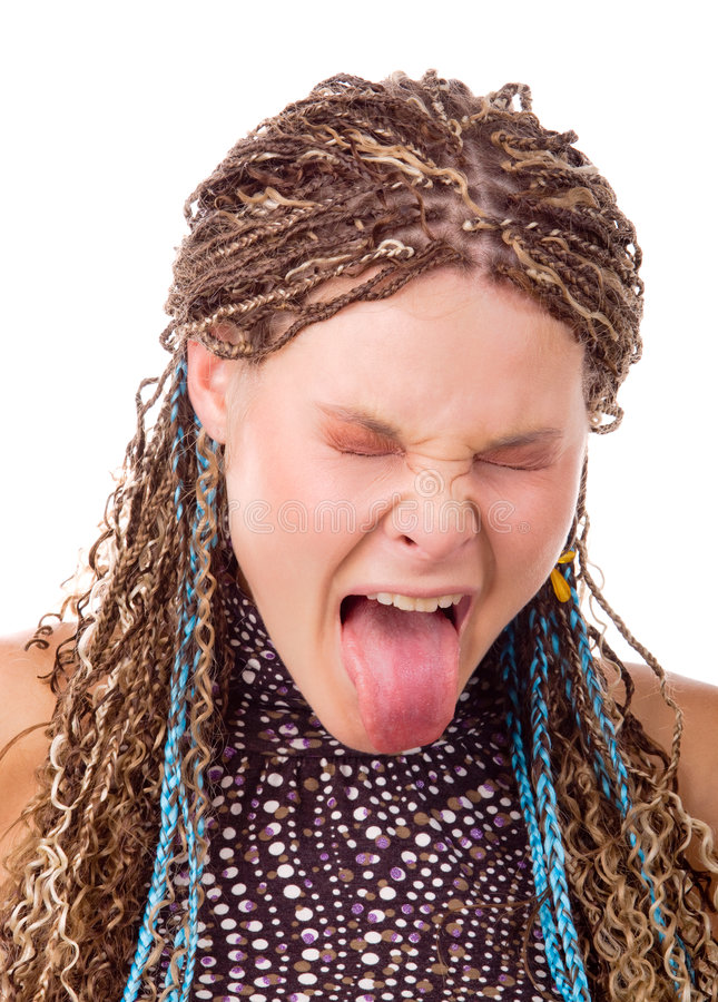 Download Disgusted lady stock image. Image of nastily, bizarre - 7957971