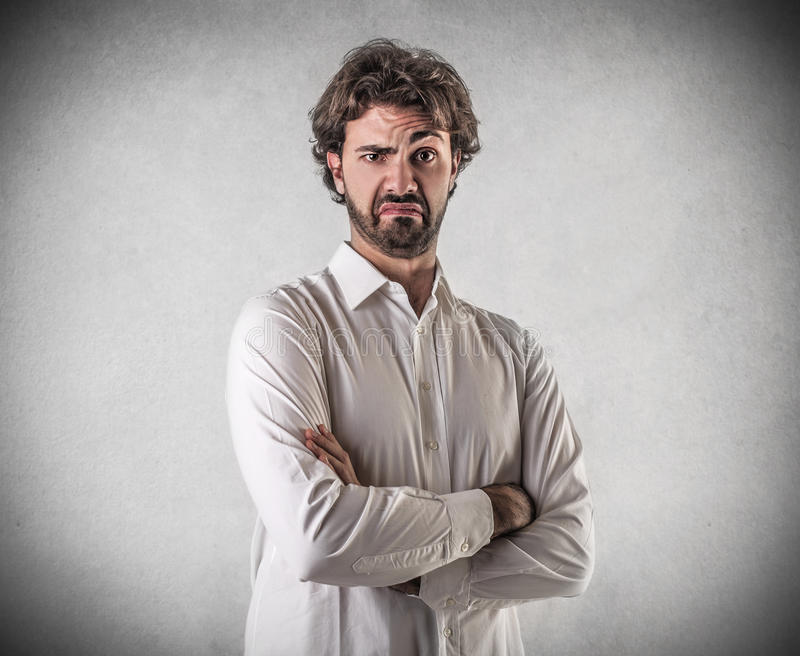Download Disgusted man stock image. Image of expression, concept - 39514951