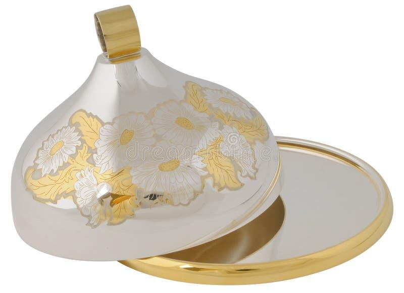 Download Dish stock image. Image of dish, silver, elegant, gold - 10868671