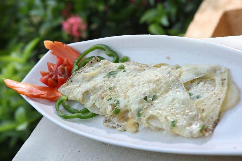 Aloo ka Frittata, Potato de Frittata, Potato Italian omelet royalty free stock photography