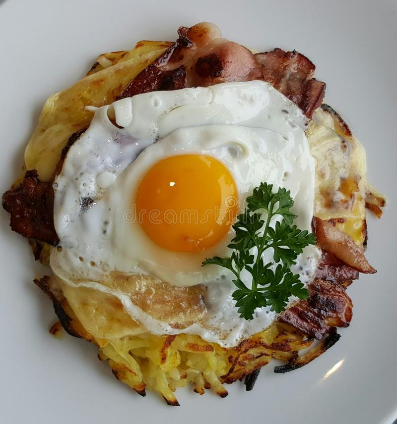 Dish, Cuisine, Fried Egg, Breakfast royalty free stock photography