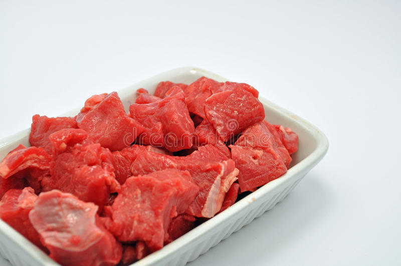Download Dish of diced beef stock image. Image of meat, party - 36854043