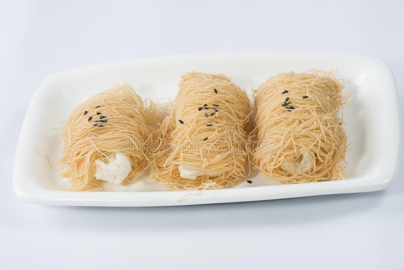 A dish of Dim Sum royalty free stock image