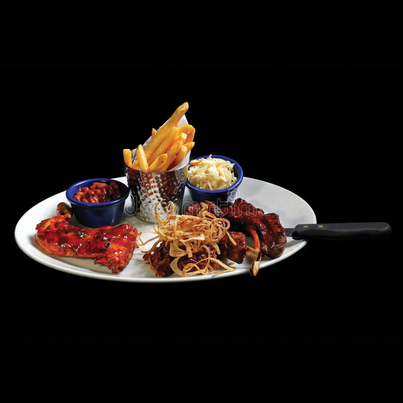 A dish of European finest food stock images