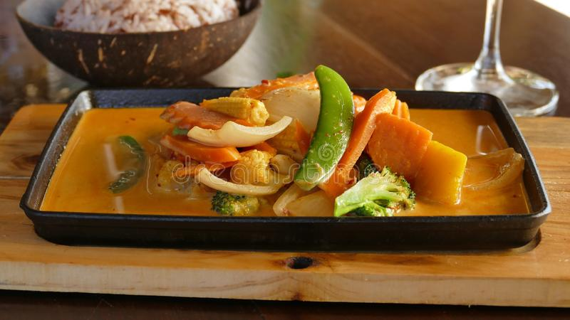 Dish, Food, Curry, Vegetable royalty free stock images