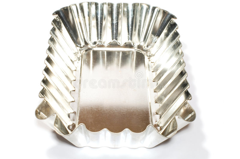 Dish moule for cake stock photos