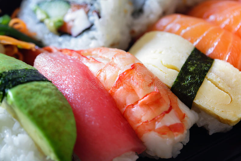 Download Dish of sushi stock image. Image of culture, dining, sushi - 14392903