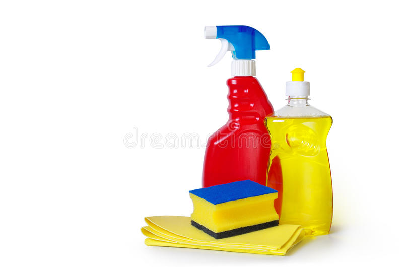 Dish washing royalty free stock image