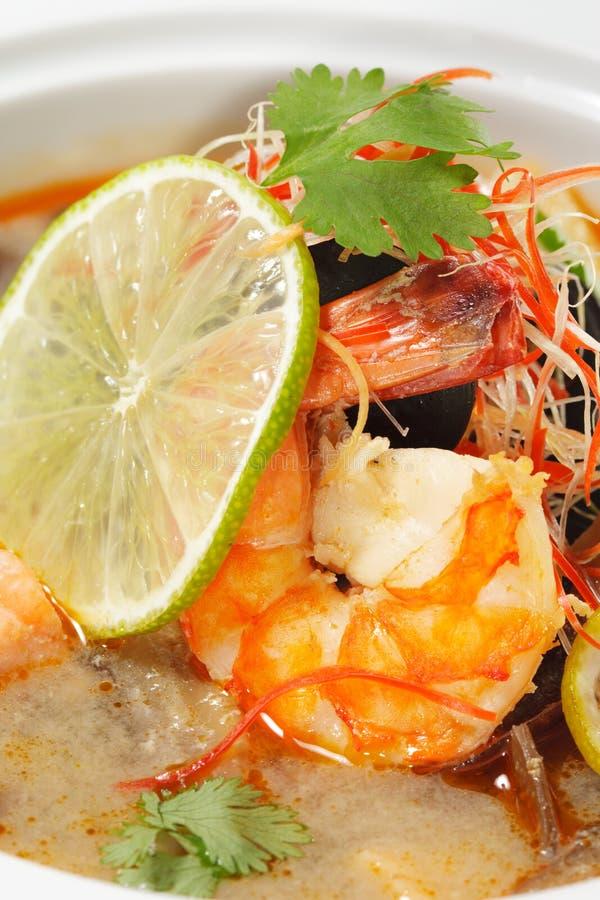 dishes батат tom kung тайский стоковое фото rf