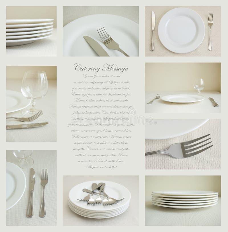 dishes белизна tableware стоковые фото