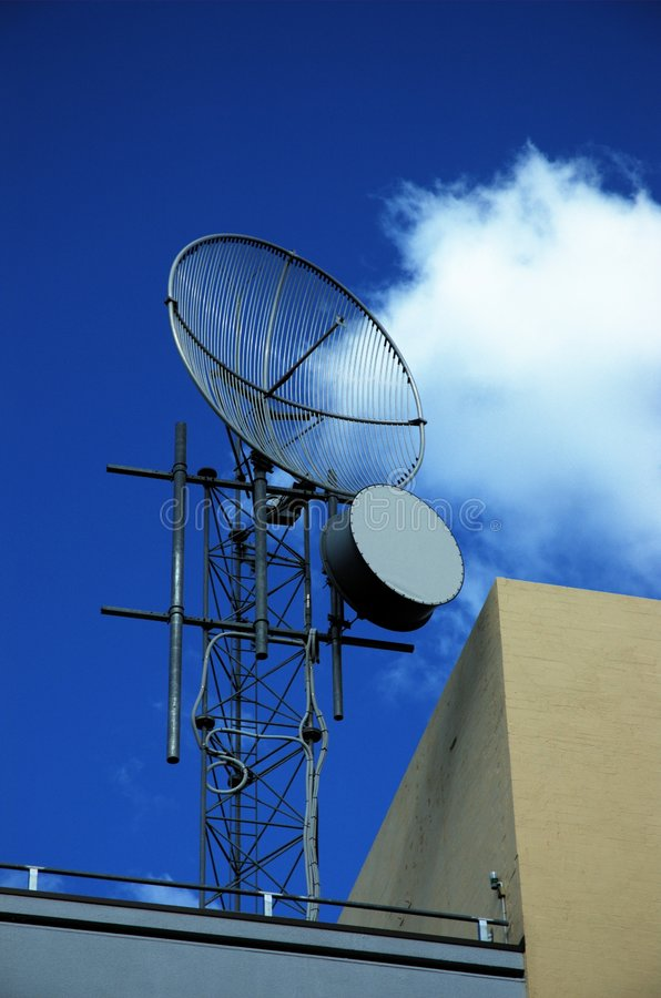 Download Dishes stock image. Image of communications, tower, metal - 113677