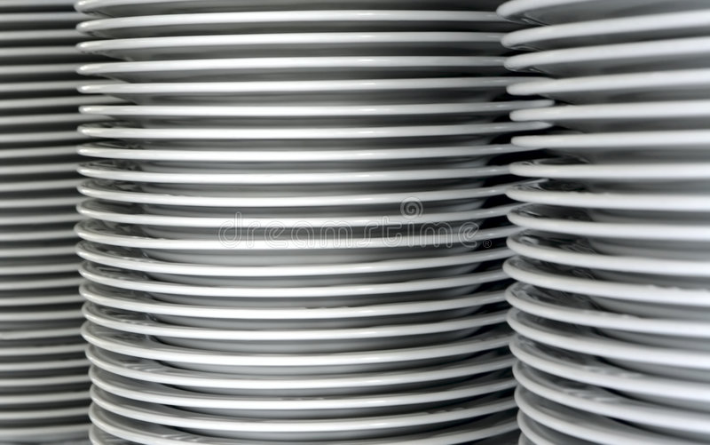 Dishes Stock Image