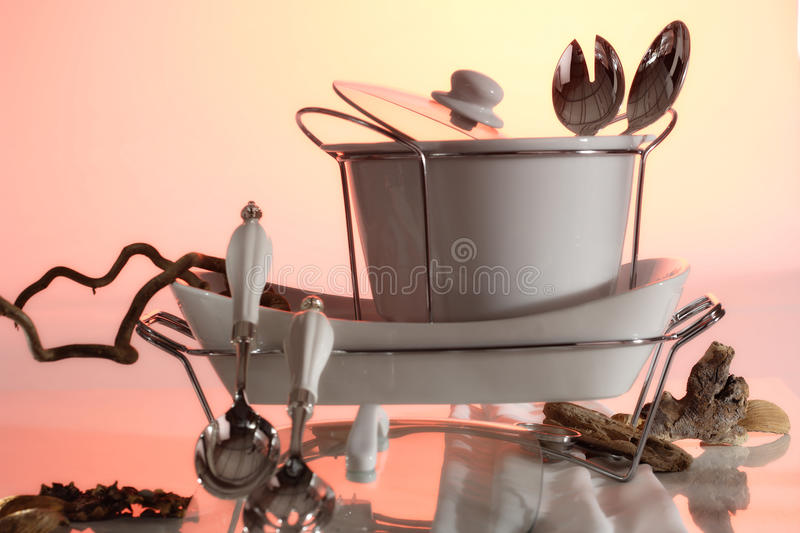 Download Dishes and kitchenware stock image. Image of kitchenware - 24373393