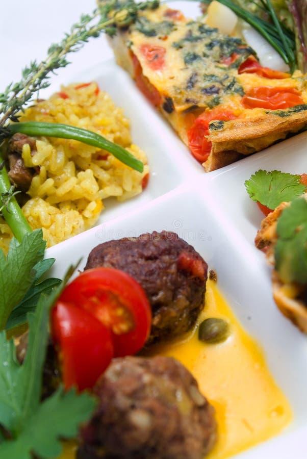 dishes tapas стоковые изображения rf