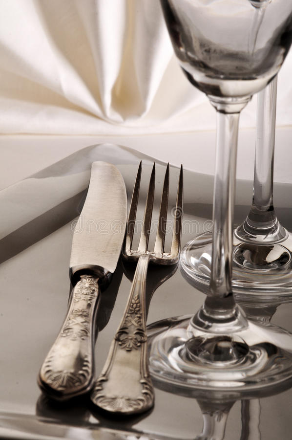 Download Dishware in retro style stock image. Image of restaurant - 27918553