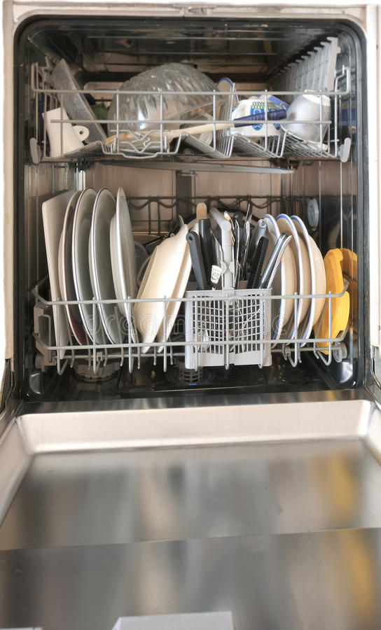 Download Dishwasher stock photo. Image of human, hand, home, female - 22041744
