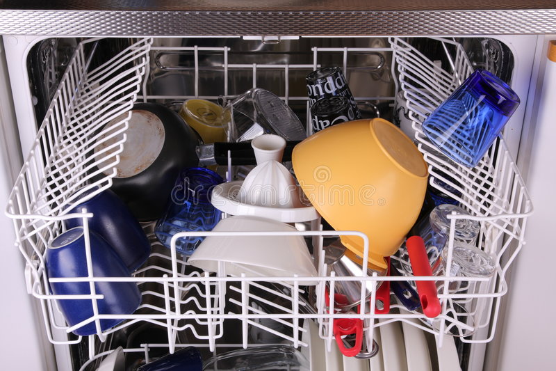 Dishwasher royalty free stock image