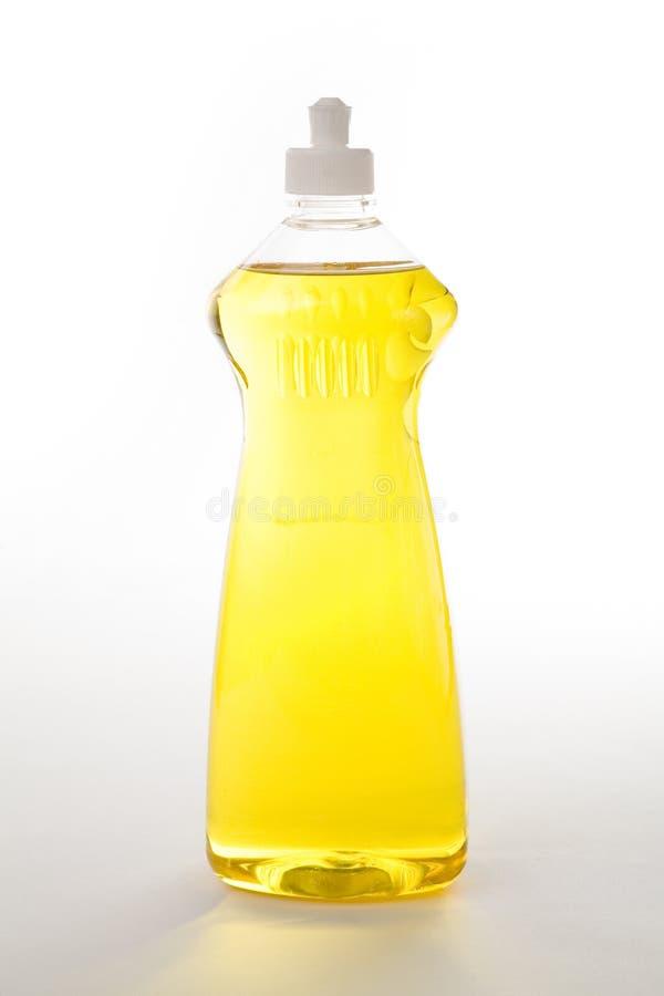 Dishwashing Vloeistof royalty-vrije stock afbeelding