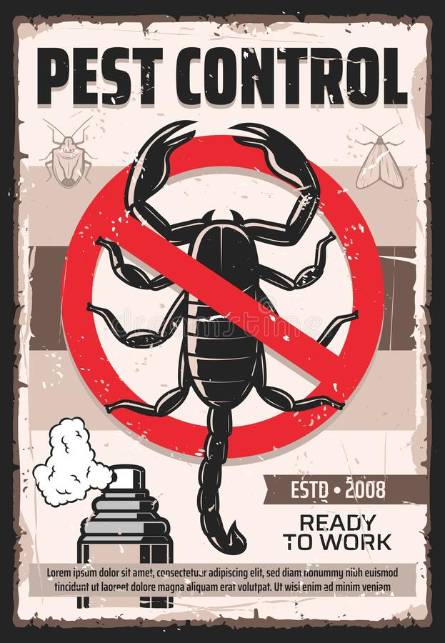 Free Disinsection, Scorpion And Insects Pest Control Stock Photos - 159843583