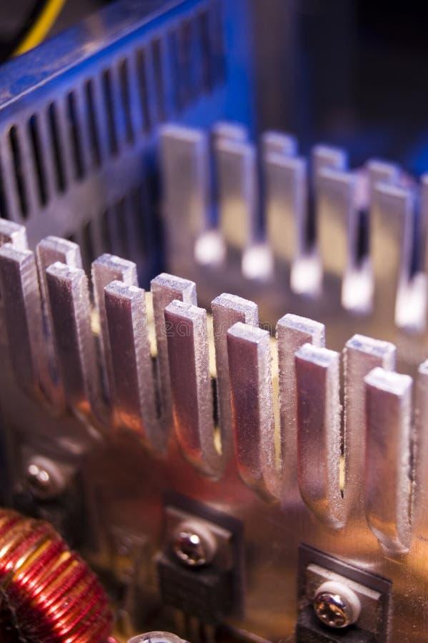 Disipadores de calor ilustración del vector