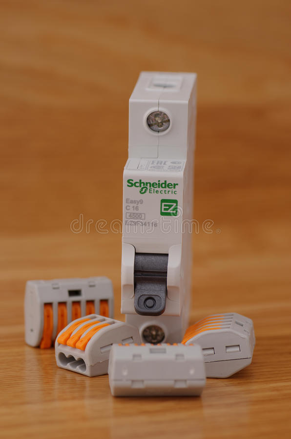 Disjoncteur photo stock