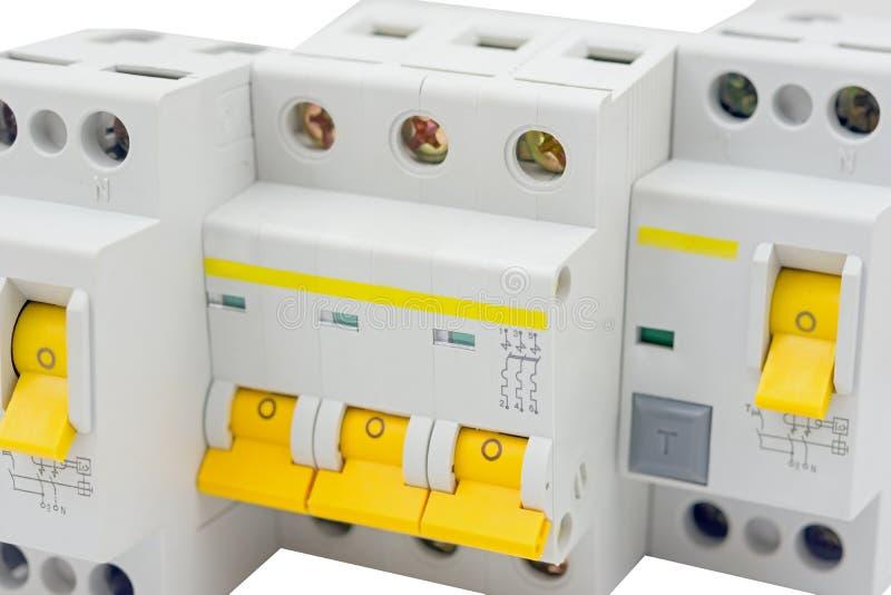 Disjoncteur automatique photos stock