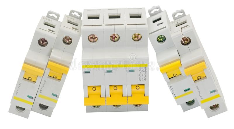Disjoncteur automatique photo libre de droits