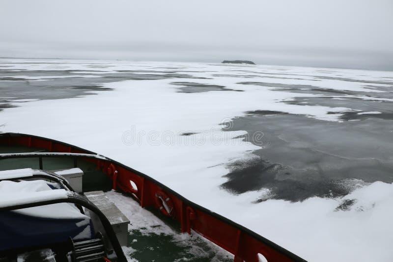 Disjuntor de gelo imagens de stock royalty free