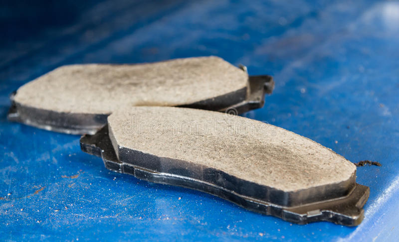 Disk brake pad. For replacement stock images