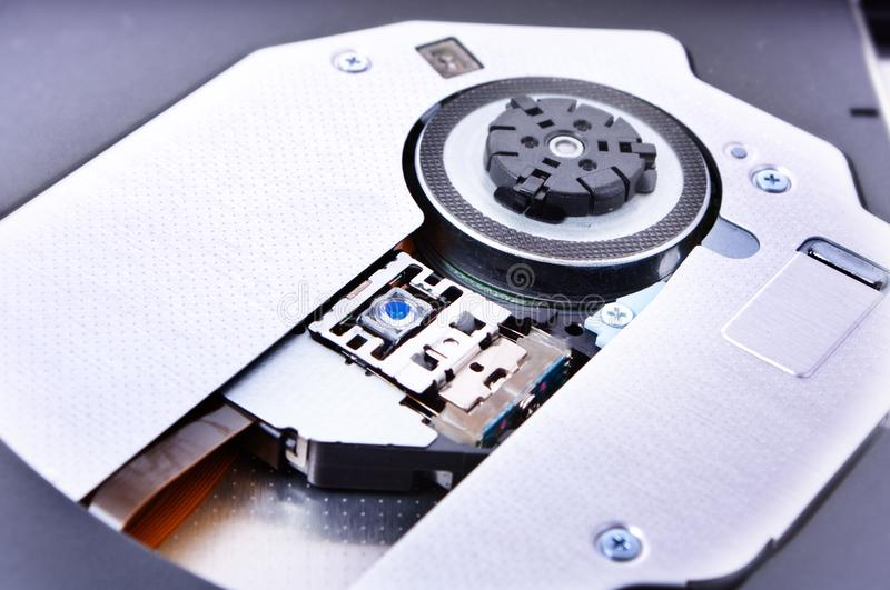 Disk drive close up