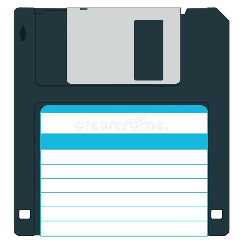 Diskette stock illustratie