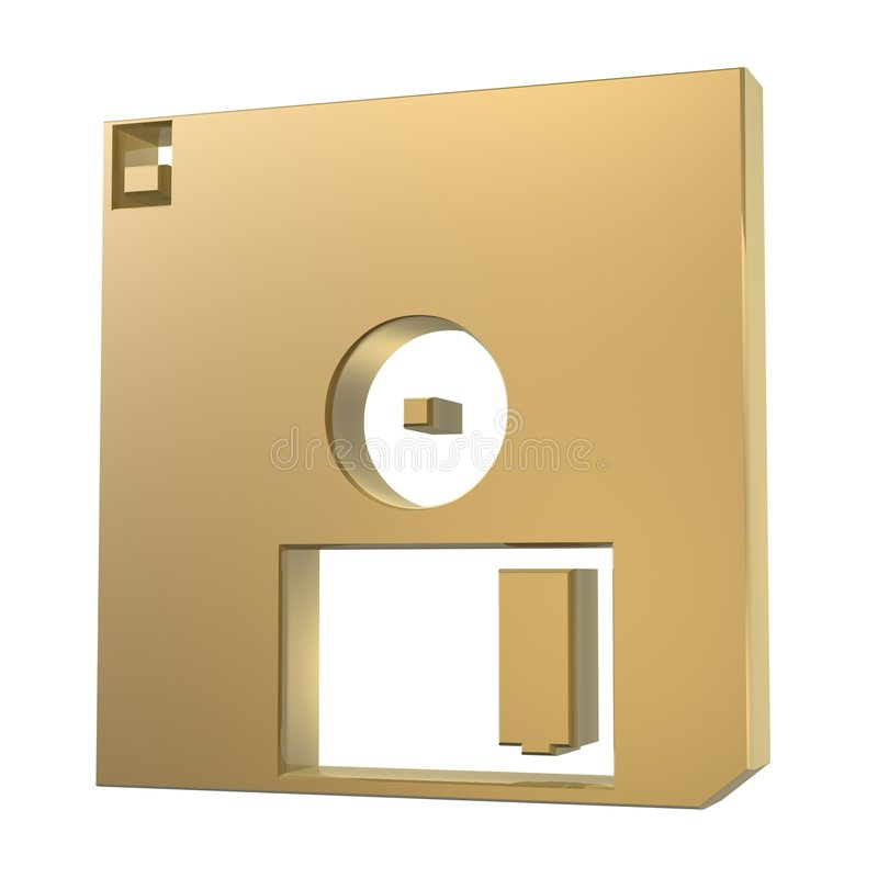 Diskette royalty-vrije illustratie
