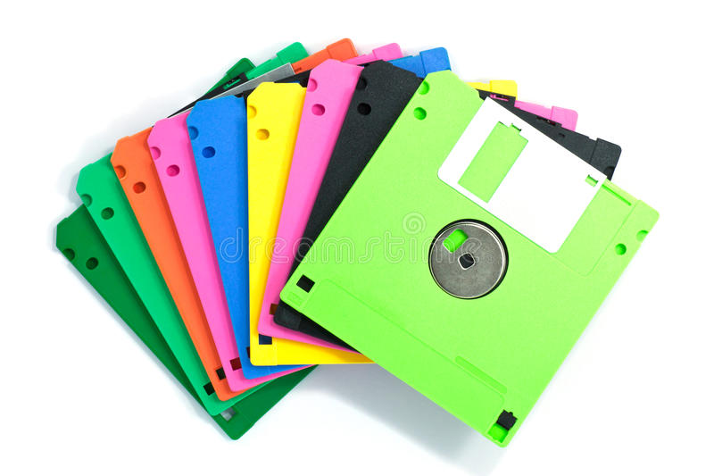 Download Diskette isolated stock image. Image of business, disk - 39510489
