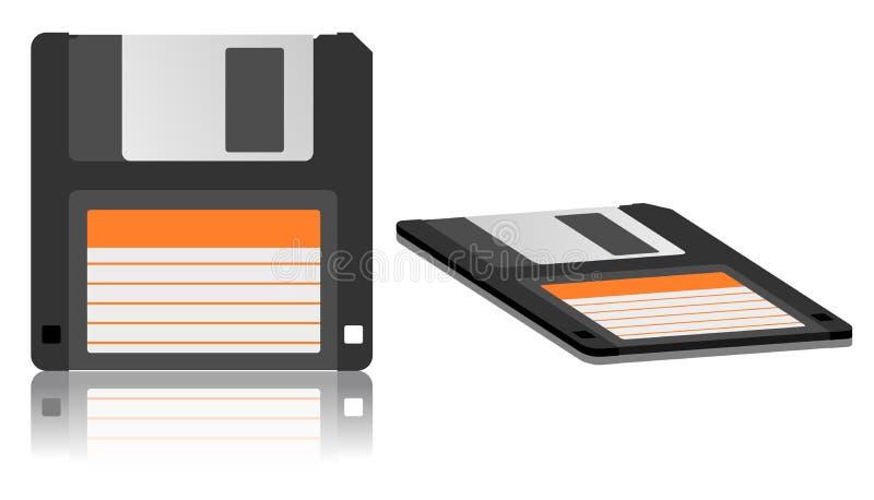 Diskettepictogram vector illustratie